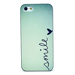 Smile Pattern Hard Case för iPhone 5/5S