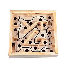 Kinderen Rocking en Rolling Balls Houten Maze Game Balance Oefening Educatief speelgoed