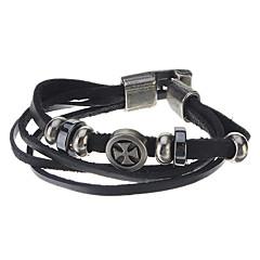 10mm Women's Cross Hanger Leather Bracelet Watch Band (verschillende kleuren)