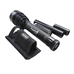 Trustfire TR-J18 5 מצב 8000 LM CREE XM-L T6 LED Flashligh (3x18650 סוללה, 1xCharger)