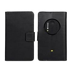 Para Capinha Nokia Carteira / Porta-Cartão / Com Suporte Capinha Corpo Inteiro Capinha Cor Única Rígida Couro PU Nokia Nokia Lumia 1020