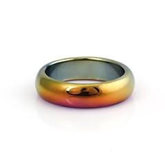 Pierścionki Codzienny / Casual Biżuteria Kamień szlachetny Obrączki8 Złoty