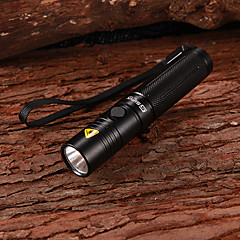 LED Flashlights / Handheld Flashlights LED 3 Mode 160 Lumens Cree XR-E Q5 18650 Multifunction - Sipik Aluminum alloy