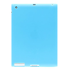 Fashion Silicone Protective Back Case Cover for iPad 2/3/4(Assorted Color)