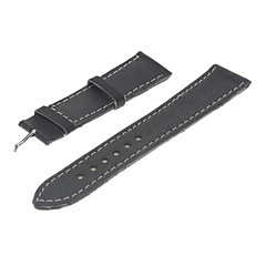 17mm Kvinnors Vintage PU Leather Watch Band (blandade färger)
