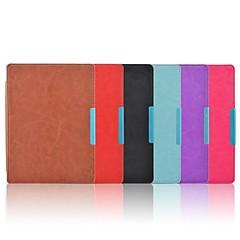 cierre imán oso ™ tímido caso elegante cubierta de cuero de la PU delgado para aura kobo 6 color multi