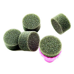 1PCS Manicure Sponge Nail Art Stamper Tools with 5PCS Sponge Nail for Gradient Color Nail Art