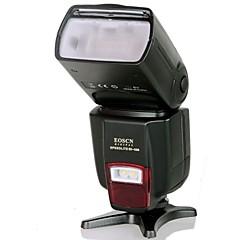 EOSCN ES-560 Universal salamalaite kanssa Fill Valotoiminto Canon, Nikon, Pentax, Olympus - Musta