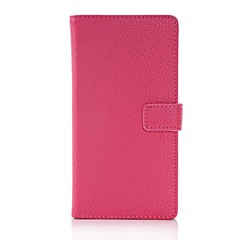 Lichee Pattern Luxury Leather Wallet Stand Case for Sony Xperia Z2 (Assorted Colors)