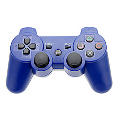 Bluetooth Håndkontroller og silikon sak for PS3 (assorterte farger)