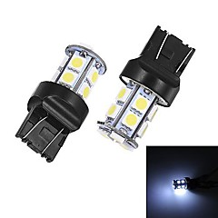Merdia T20 5W 40ml 13x5050SMD LED White Light for Car Backup Light (A Pair / 12V)
