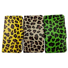 La beauté de l'affaire Full Body motif léopard en cuir PU avec support pour iPhone 4/4S (couleurs assorties)