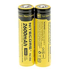 NITECORE NL186 2600mAh18650 Battery (2 pcs)