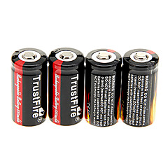 TrustFire 880mAh 16340 Battery (4kpl)
