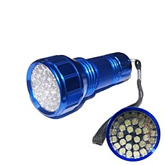 Hunterseyes ™ Mini Alumiini 32 LED taskulamppu (3xAAA, Random Color)