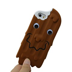 Smile Chocolate Ice Cream Skin Case Cover Compatible with iPhone 5/5S