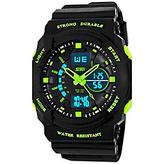 Skmei® Children's Watch Sports Dual Time Zones  Multifunction Water Resistant