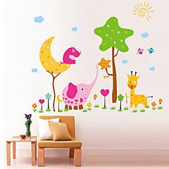 dierentuin patroon muur sticker (1st)