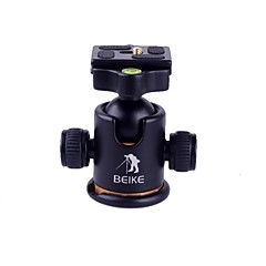 BEIKE BK 03 Photography Tripod Ball Head Ballhead Quick Release Plate Pro Camera Tripod Max To 8KG Free Shipping