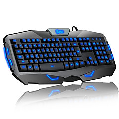 Delog Luminous Wired Gaming Keyboard