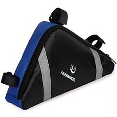 Bisiklet Çantası 2.6LBisiklet Çerçeve Çantaları Su Geçirmez Giyilebilir Bisikletçi Çantası Naylon Bisiklet Çantası Bisiklete biniciliği