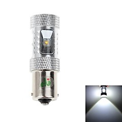1156 18W 6x3535SMD 1700LM 6500K White Light LED auton ohjauspyörän Light (DC 9-24V)