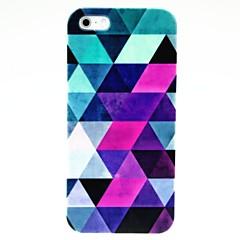 Hard Case Résumé Motif Bleu pour iPhone 5/5S