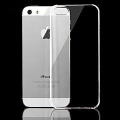 vormor® ultrafinos pc de volta caso transparente para iPhone 5 / 5s