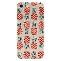 Caso duro Pineapple Pattern for iPhone 5/5S