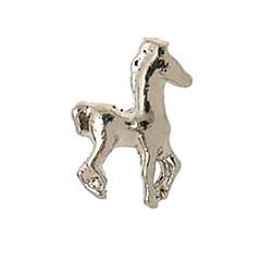 Charms flotantes 20PCS aleación de la manera del caballo por Memoria Viva Locket (55 pcs por paquete)