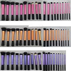 20 Pieces Super Soft Dense Make Up Brush Amazing Complete Kit for Makeup with 3 Different Colors