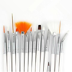 15pcs søm kunst maleri børste kits
