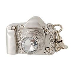 Κάμερα 8 gb σχεδιασμού usb flash drive με διακόσμηση στρας