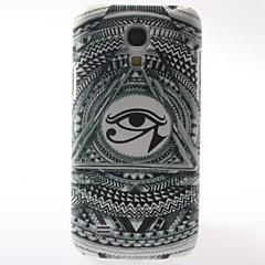 det magiska ögat mönster pc hård väska med inredning matt skydd för Samsung Galaxy S9500