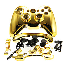 Deksel saken dekning for Xbox 360 Wireless Controller golden