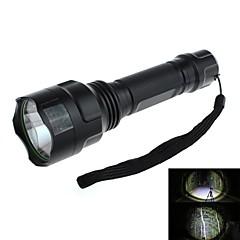 Lampes Torches LED / Lampes de poche (Etanche / Rechargeable) LED 5 Mode 90 Lumens Cree XR-E Q5 18650 - Chasse / Pêche Autres C8