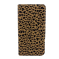 Belle motif léopard cuir PU corps entier avec le stand pour l'iPhone 4/4S