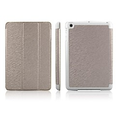 enkayは、オートスリープ機能/ wのiPadのミニ3、iPadのミニ2、iPadのミニ用の3フォールド保護ケース(アソート色)に設計された