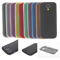 ultradünnen transparenten weiche Tasche für Samsung Galaxy i9500 s4 (verschiedene Farben)