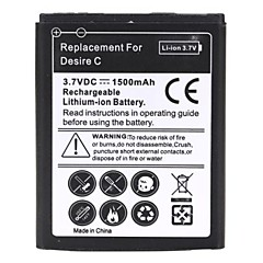1500mAH Rechargeable Replace Li-ion Battery for HTC Desire C