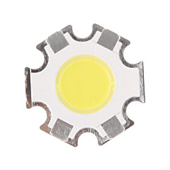 5W COB 450-500LM 6000-6500K Cool White Light LED Chip (15-17V, 300uA)