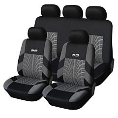 9 Stück Set Autositzbezüge für Material Polyester Technologie Wärme Geprägte Universal-Fit