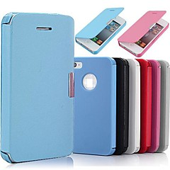 Flip PU Leather Magnetic Full Body Case for iPhone 4/4S