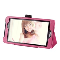 """Shy Bear™ Slim Smart Leather Cover Case for Asus Fone Pad 7 FE170CG FE170 7"""" Inch Tablet"""