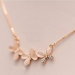 Damskie Opal Flower Shape Animal Shape Motyl Opal biżuteria kostiumowa Biżuteria Na