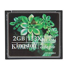 Kingston 2GB Elite Pro 133X Compact Flash CF Memory Card