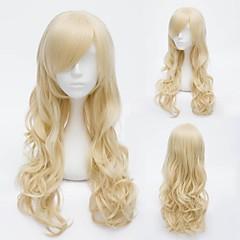 Golden 60cm Janpanese Harajuku Long Curly Sweet Lolita Wig