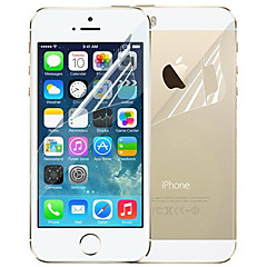 DSB®Premium High Penetration Film Guard Set Screen Protector with Cleaning Microfiber Cloth for iPhone 5/5S/5C