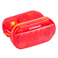 Letdooo 5 Flash Model ABS LED Red Waterproof Cycling Tail Light