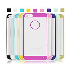 Angibabe 0.3mm Acrylic Transparent Soft TPU Phone Back Cover for iPhone 5/5S (Assorted Colors)